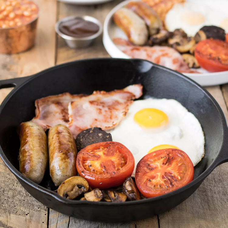 Traditional Full English Breakfast: Traditional English Breakfast Recipe
